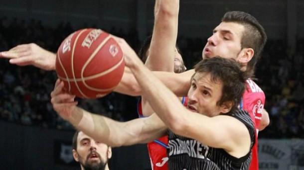 El Bilbao Basket visita al Estrella Roja. Foto: EFE