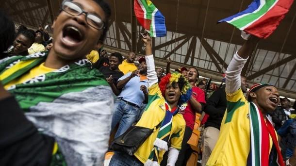 Hegoafrikarrek agur esan diote 'Madiba'ri