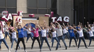 3. edizioko finaleko flashmoba