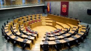 El Parlamento de Navarra, vacío. Foto de archivo: Parlamento de Navarra