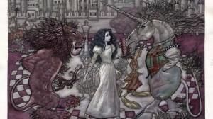 Through The Looking-Glass argitaratu du Dominguezek Londresen Argazkia: A.D.