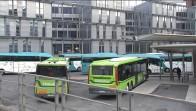 La Termibus provisional acogerá 12 de las 15 líneas de Bizkaibus