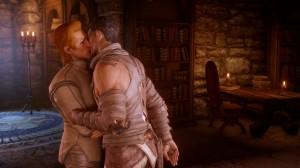 Personajes homosexuales, en el videojuego 'Dragon Age'. Foto: Mikel Calvo