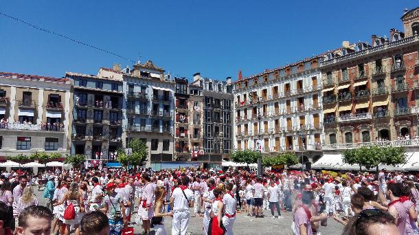 Foto de archivo de San Fermín 2016. EiTB