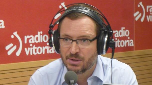 Javier Maroto vicesecretario nacional de Política Social y Sectorial del PP.