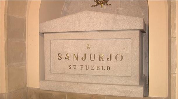 La cripta donde está enterrado el militar franquista Sanjurjo.