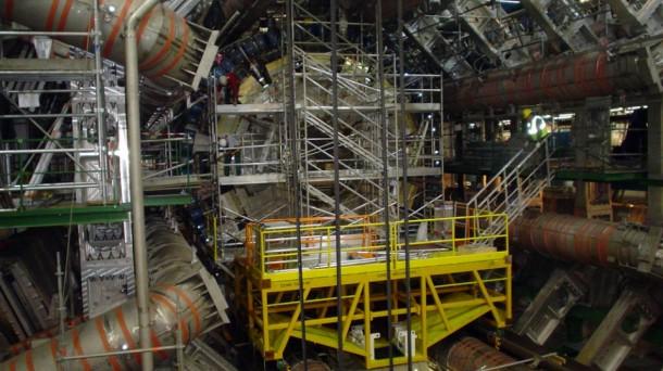 CERN laborategiaren irudia, Genevan. EFE