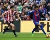 El Athletic perdona en la primera parte y cae ante el Barcelona (3-0)