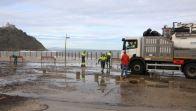 Remite el temporal en la costa, que deja solo pequeños daños