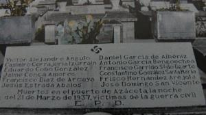Araba homenajea a los asesinados en Azazeta