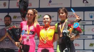 Lourdes Oyarbide se impone en el Campeonato Estatal de ciclismo