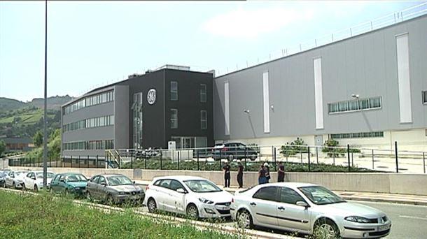 General Electric Renewable Hydro de Ortuella (Bizkaia). Imagen de archivo: EiTB
