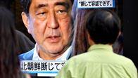 Abe pide a EE. UU. y Rusia presionar más a Piongyang