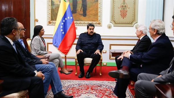 Nicolas Maduro. Artxiboko argazkia: EFE