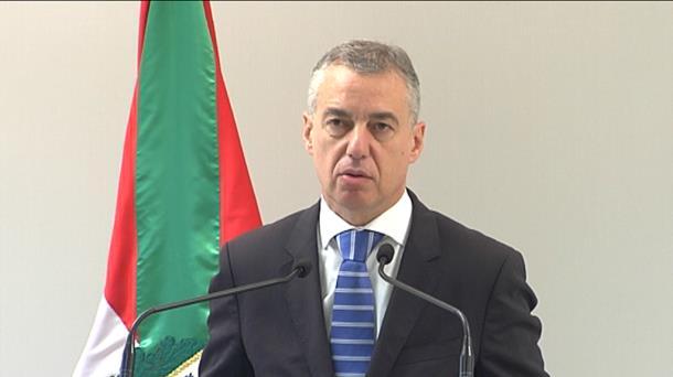 Iñigo Urkullu. Foto de archivo