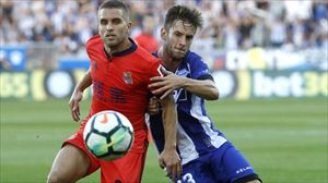 En la primera vuelta los donostiarras vencieron por dos goles (0-2) en Mendizorrotza. Foto: EFE