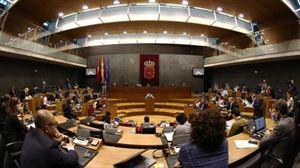 Nafarroako Parlamentua, artxiboko irudian. Argazkia: EFE.