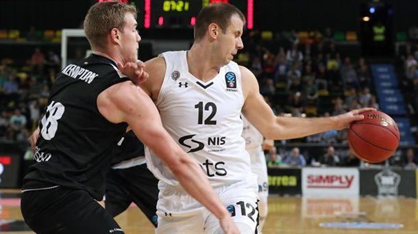 Bilbao Basketek ezin izan dio Partizani irabazi Miribillan. Argazkia: EFE