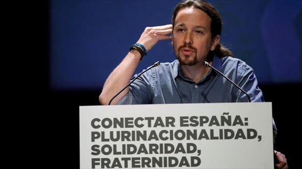 El 'sí' se ha impuesto en la consulta impulsada por Pablo Iglesias. Foto de archivo: EFE