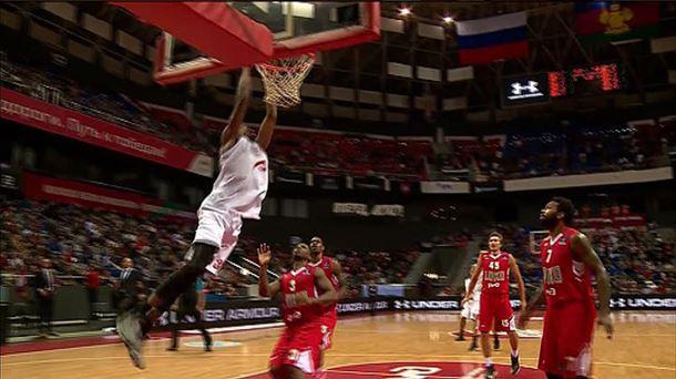 Lokomotiv 102 - Bilbao Basket 86 / EITB.