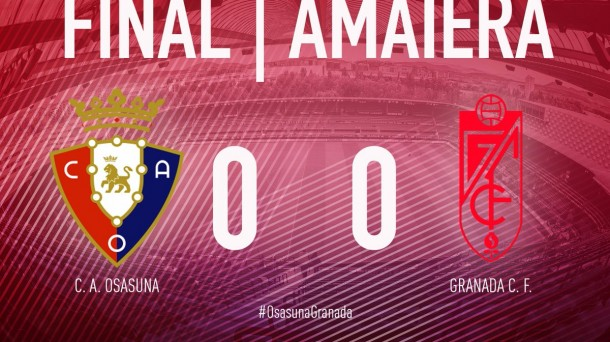 Osasuna-Granada (0-0). Foto: CA Osauna