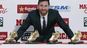 Leo Messi. Foto: Efe.