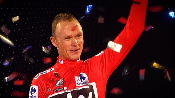Chris Froome, Espainiako Itzuliko podiumean