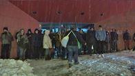 Unas 600 personas pasan la noche en Alsasua tras quedar atrapadas en la A-1