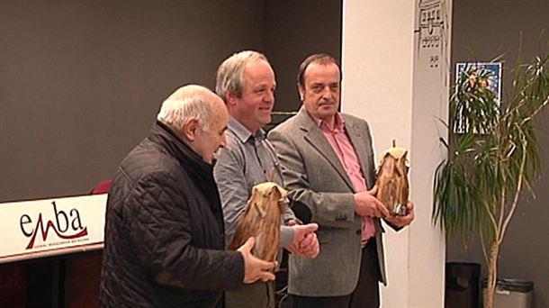 Entrega de premios del sindicato ENBA. EiTB