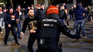 'Prentsaren eta Athleticeko erradikalen probokazioa' salatu du Spartakek