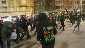 Quedan en libertad los 9 detenidos durante los incidentes de San Mamés
