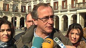 Alfonso Alonso Euskadiko PPko presidentea. Argazkia: EiTB