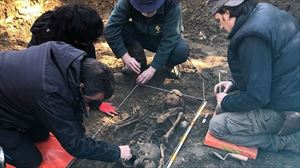 1938an Ezkabatik ihes egindako gizon baten gorpuzkiak aurkitu dituzte Olaben. Nafarroako Gobernua