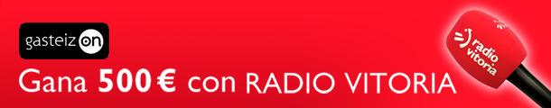 ¿Dónde está Radio Vitoria? Participa y gana hasta 500 €